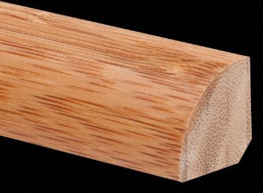 "3/4"" x 3/4"" Carbonized Bamboo Quarter Round"